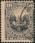 Stamps America - Peru -  Emisión sin regilla de American Bank Note Co. NY