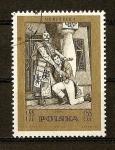 Stamps Poland -  Centenario de la muerte de Stanislaw Moninszko (Compositor)