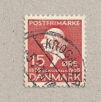 Stamps Denmark -  H. C. Andersen