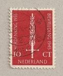 Sellos de Europa - Holanda -  Espada llameante