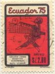 Stamps America - Ecuador -  Terceros Juegos Deportivos Ecuatorianos