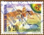Sellos de America - Bolivia -  NAVIDAD