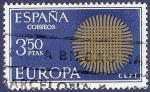Stamps Spain -  Edifil 1973 Europa CEPT 1970 3,50