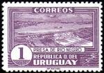 Stamps : America : Uruguay :  Represa de Río Negro