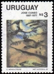 Stamps of the world : Uruguay :  Jose Cuneo