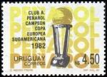 Stamps of the world : Uruguay :  Peñatrol, campeón copa europea-sudamericana 1982