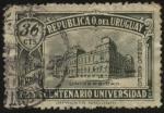Stamps Uruguay -  100 años de la Universidad de la República de Uruguay. Edificio sede de las autoridades universitari