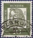 Stamps : Europe : Germany :  ALEMANIA Durero 10