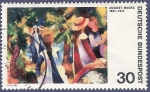 Stamps Germany -  ALEMANIA Macke 30