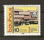 Stamps Germany -  Estilo de construccion