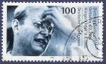 Stamps Germany -  ALEMANIA Bonhoeffer 100