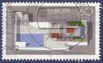 Stamps Germany -  ALEMANIA Pavellón alemán en Barcelona'92 60