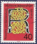 Stamps Germany -  ALEMANIA R 40