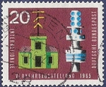 Stamps : Europe : Germany :  ALEMANIA Comunicaciones 20