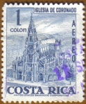 Stamps America - Costa Rica -  IGLESIA DE CORONADO