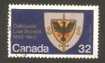 Stamps Canada -  centº de la facultad de derecho de la universidad de dalhousie