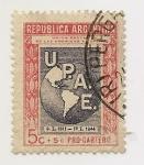 Stamps Argentina -  Unión Postal de las Américas y España