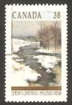 Stamps : America : Canada :  meandros de la ribera