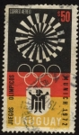 Stamps Uruguay -  Juegos Olímpicos de Alemania. Munich 1972.