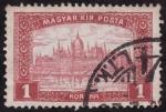 Sellos del Mundo : Europa : Hungría : Edificio del Parlamento-BUDAPEST