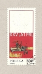 Stamps Poland -  XXV aniv. de la Republica Popular de Polonia