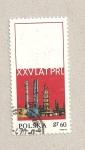 Stamps Poland -  XXV aniv. de la Republica Popular de Polonia
