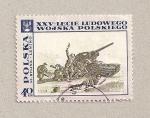 Stamps Poland -  Infantería con tanque