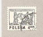 Sellos de Europa - Polonia -  Grabado siglo XVI