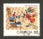 Stamps : America : Canada :  navidad, la anunciación