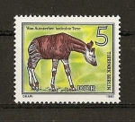 Stamps Europe - Germany -  Animales en vias de extincion.