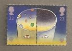 Sellos de Europa - Reino Unido -  Europa en el espacio
