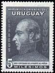 Stamps Uruguay -  Gen. José Artigas