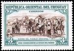 Sellos del Mundo : America : Uruguay : Exodo del pueblo oriental