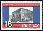 Stamps of the world : Uruguay :  Casa solariega de Artigas