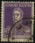 Sellos de America - Argentina -  Libertador General José de San Martín. 1778 - 1850. Militar argentino, cuyas campañas fueron decisiv