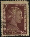 Sellos de America - Argentina -  Eva Perón.
