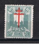 Sellos de Europa - España -  Edifil  959  Pro Tuberculosis  Cruz de Lorena en Carmín.