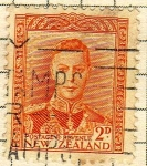 Stamps New Zealand -  GeorgeVI