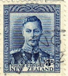 Stamps New Zealand -  GVIeorge