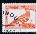 Sellos de Africa - Benin -  Upupa epops