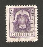 Stamps Canada -  fauna, un buey