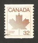 Sellos de America - Canadá -  Emblema nacional