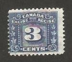 Sellos de America - Canadá -  impuesto especial