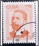 Stamps Cuba -  Antonio Maceo