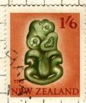 Stamps Oceania - New Zealand -  Artesania autoctona
