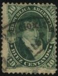 Sellos de America - Argentina -  Manuel José Joaquín del Corazón de Jesús Belgrano González 1770 – 1820. Economista, periodista, polí