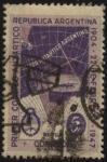 Stamps Argentina -  Escudo de la Nación Argentina. Sector Antártico de la Argentina. 43 años del primer correo antártico