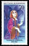 Stamps Germany -  Hermine Körner