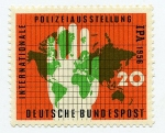 Stamps : Europe : Germany :  Internationale Polizeiausstellung IPA