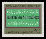 Stamps : Europe : Germany :  Paul Gerhardt